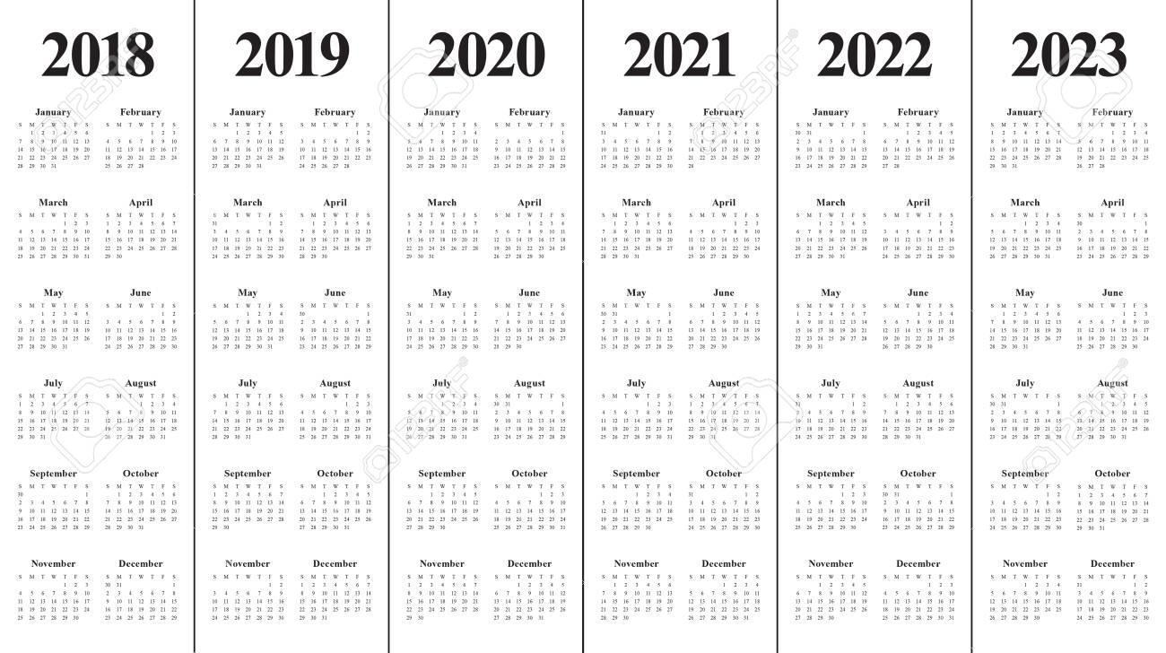 Année 2018 2019 2020 2021 2022 2023 Calendrier Modèle De