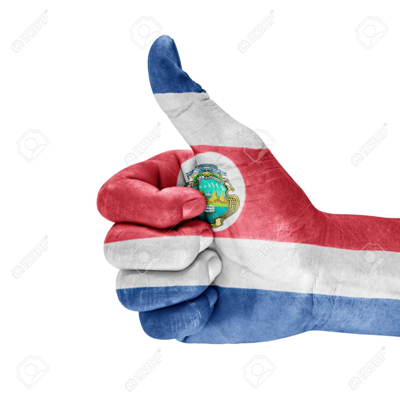 costa rica flag stock photos u0026 pictures royalty free costa rica