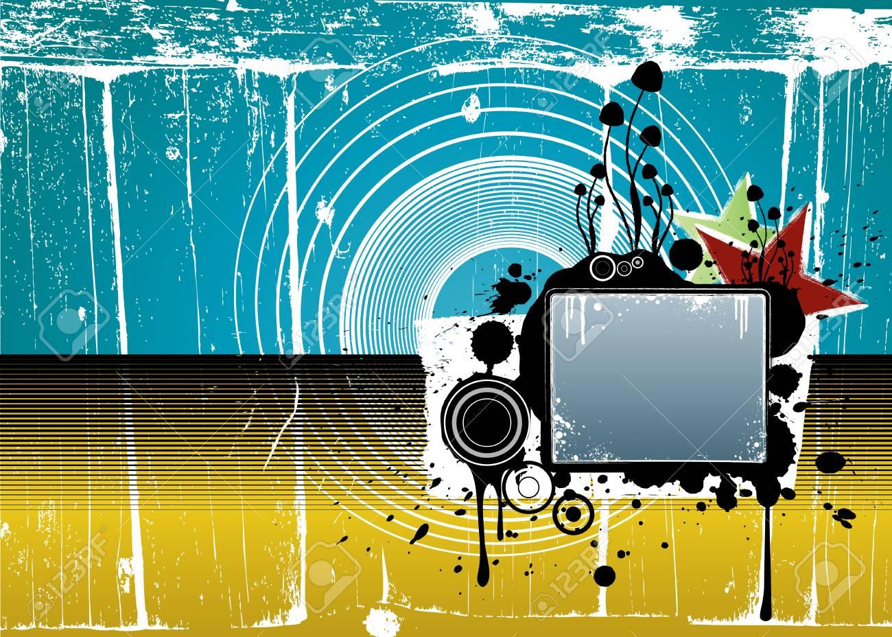 Grunge Camera Vector : Vector illustration pfad mit hoher anzahl von grunge schmutzigen