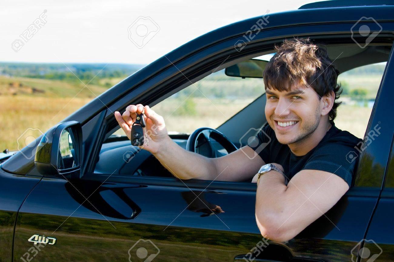 Фото молодых людей с машиной 2 фотография
