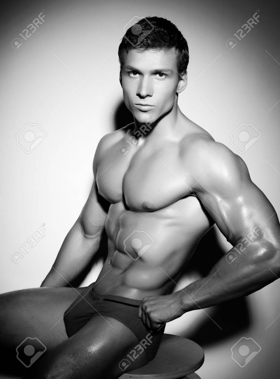 Strong and Excellence male naked body. Stock Photo - 11266788