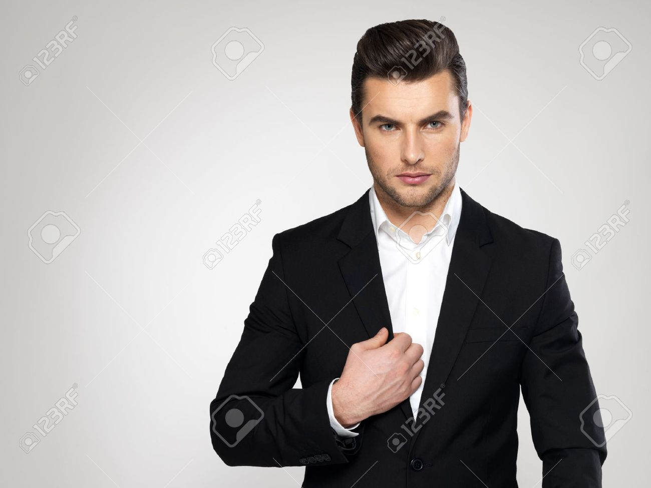 Fashion young businessman