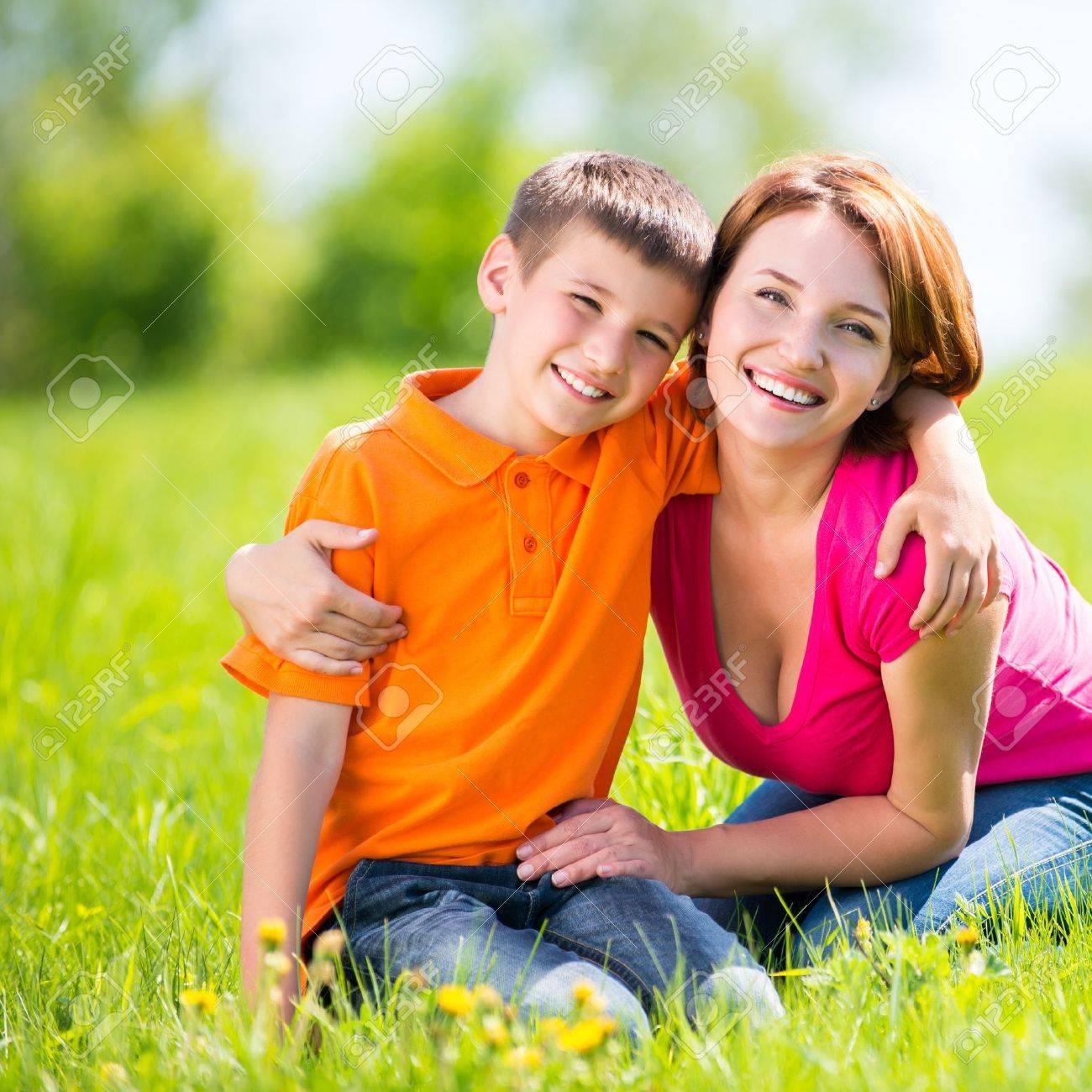 Фотосет мамы с сыном 30 фотография