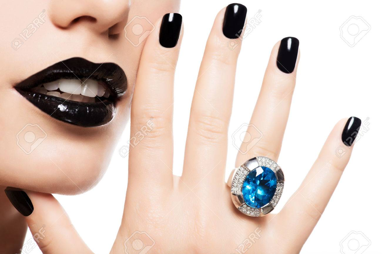 Jewelry Nail Stock Photos. Royalty Free Jewelry Nail Images