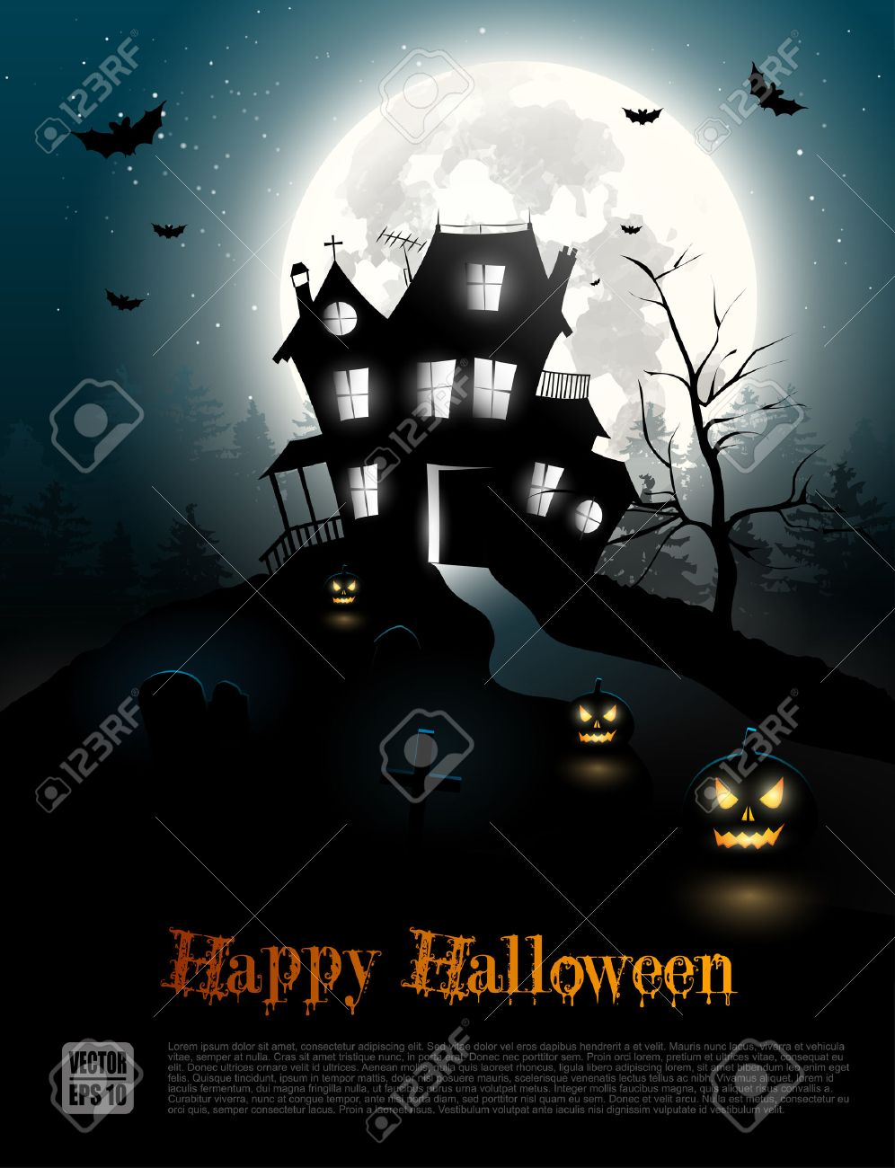 94,735 Halloween Backgrounds Stock Vector Illustration And Royalty ...