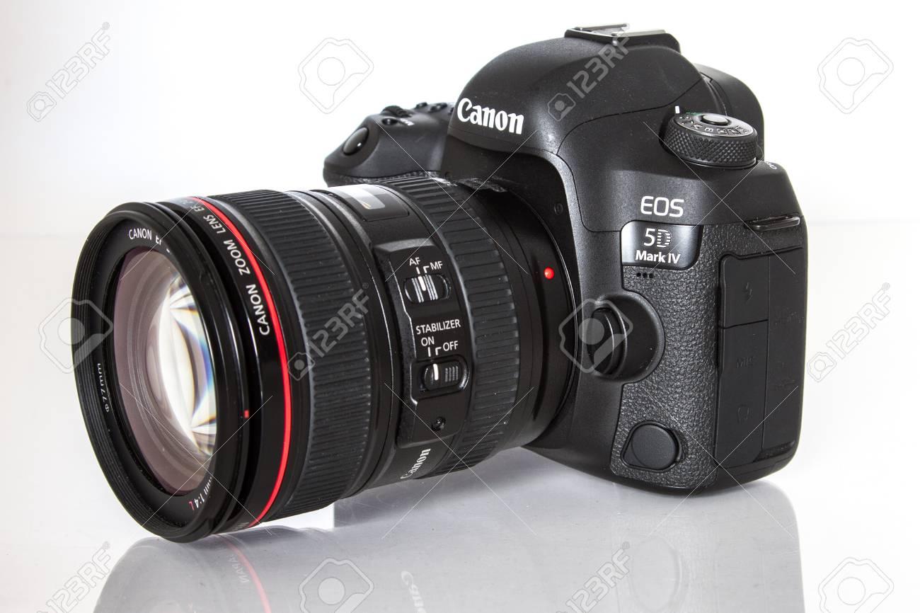 Cámara Canon 5D Mark IV, Sensor De Fotograma Completo CMOS De 30.4MP ...