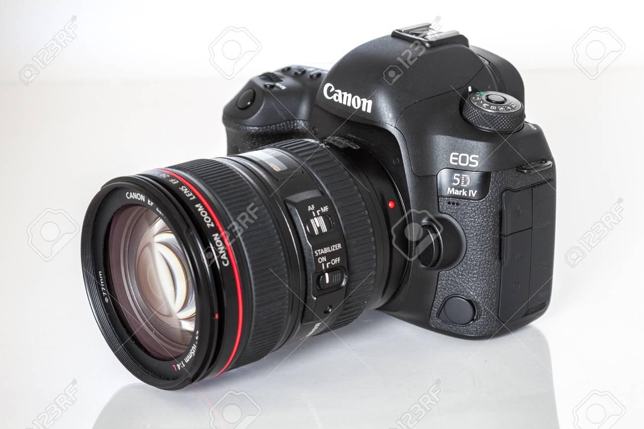 Cámara Canon 5D Mark IV, Sensor De Fotograma Completo 30.4MP CMOS ...