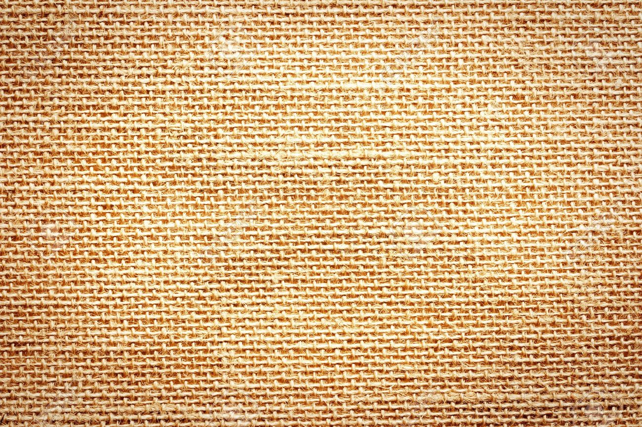 background of old sack material - 7543506