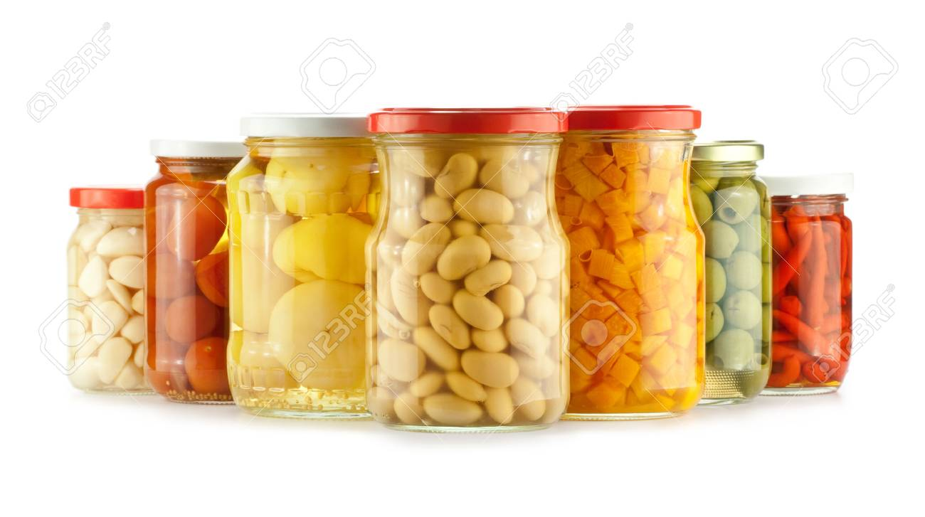Pickles isolated on a white background Stock Photo - 7945515