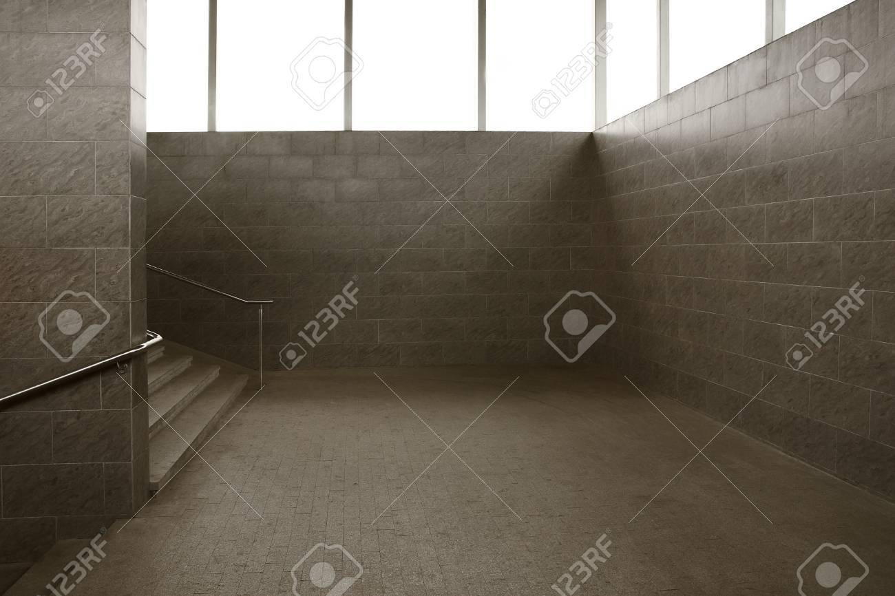 empty underground passage stairway Stock Photo - 9152283