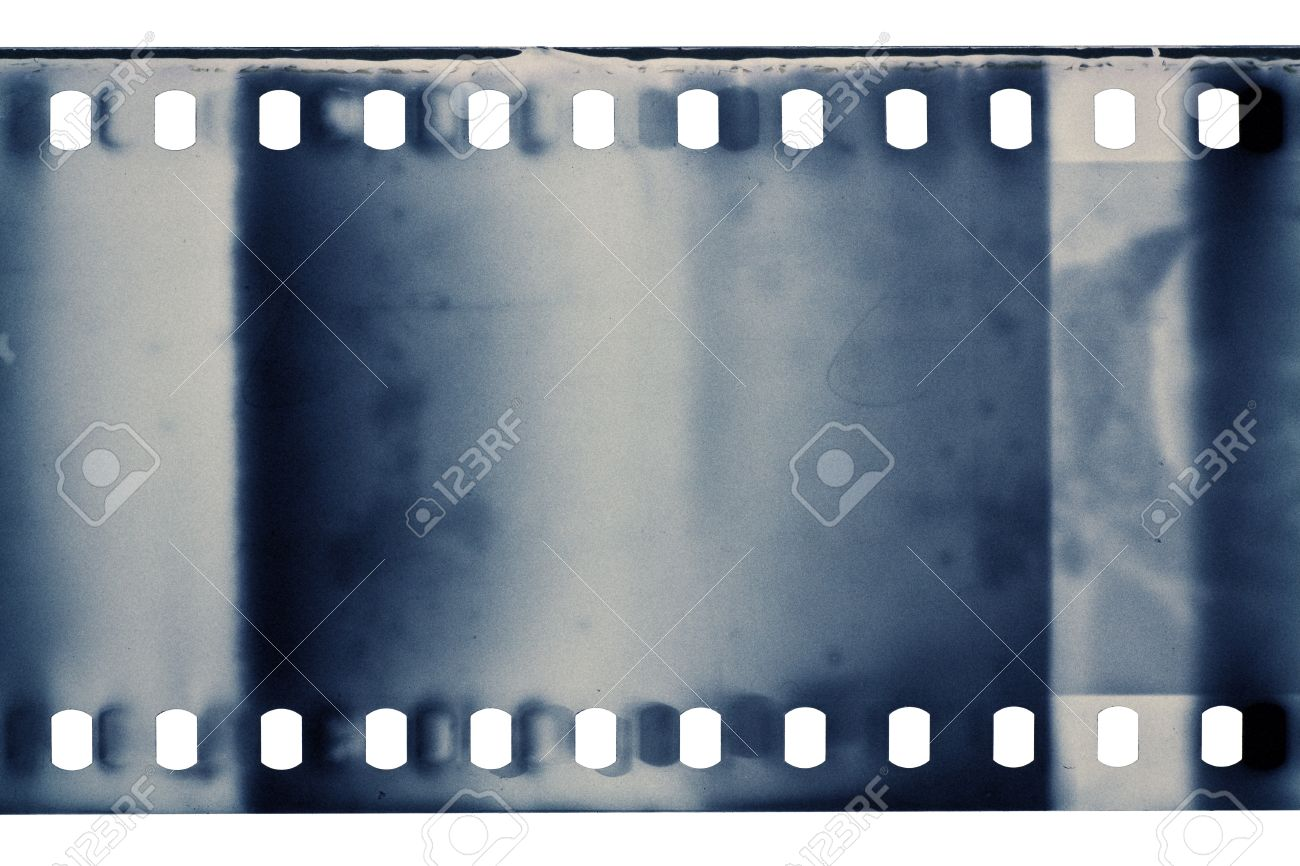 Blank grained film strip texture Stock Photo - 10730248
