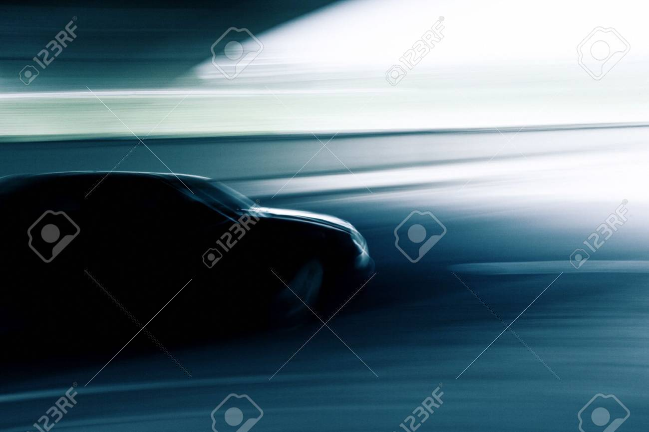 Abstract motion blurred car Stock Photo - 11312090