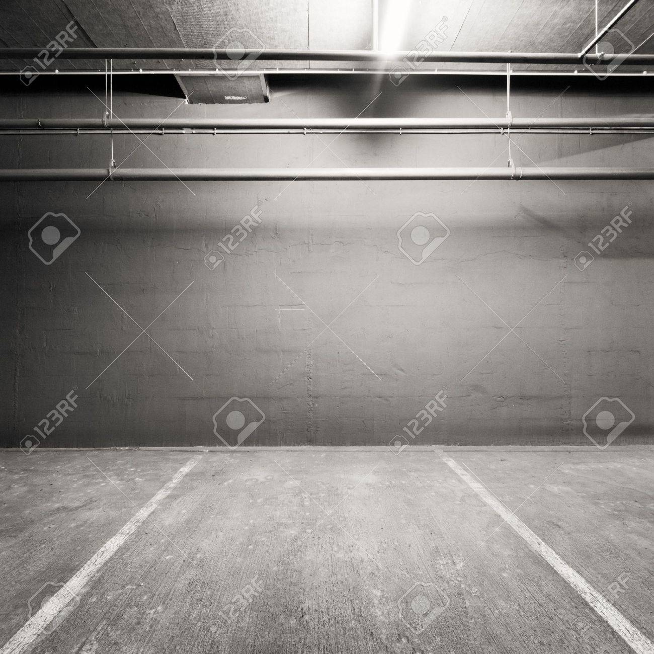Empty warehouse wall, can be used as industrial background Stock Photo - 11764847