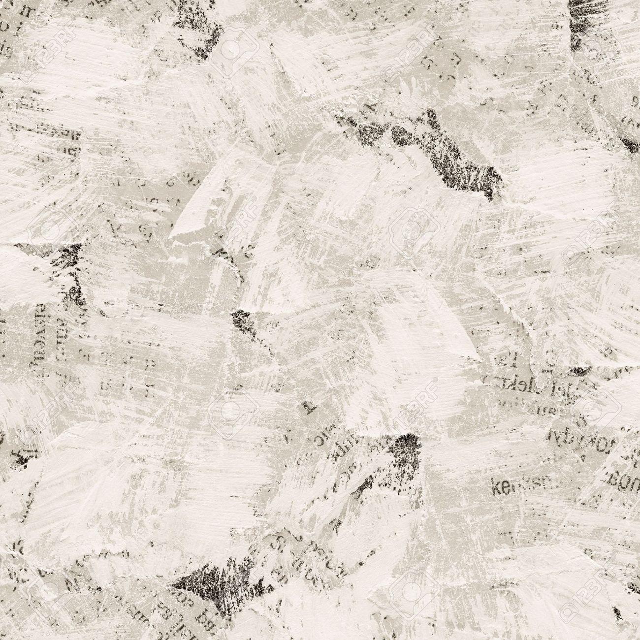 Super Fond Collage Grunge De Papier Journal Peint Déchiré Banque D  OX79