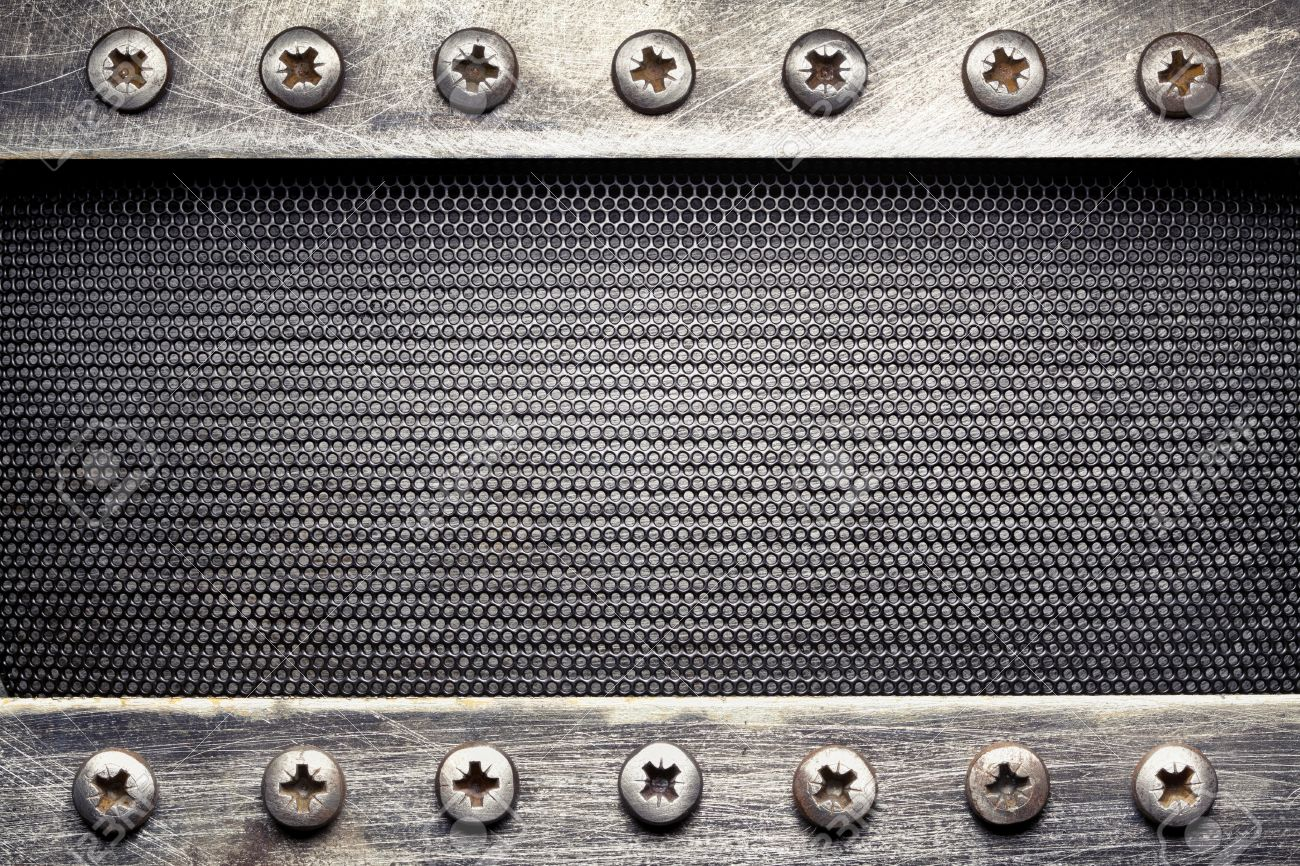 metal grid texture background stock photo 15703396