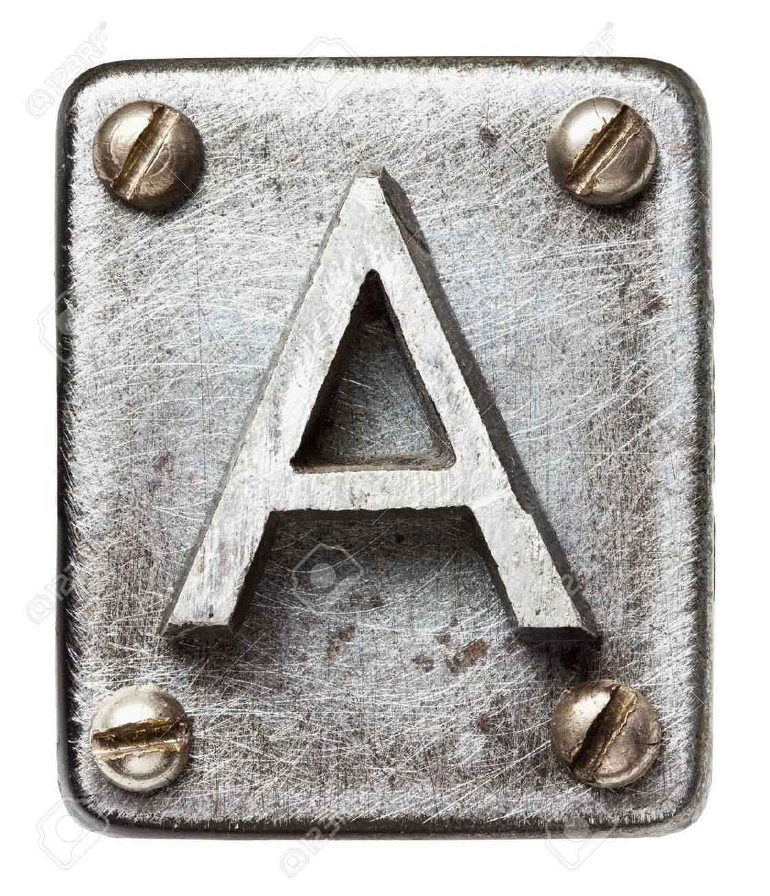 http://previews.123rf.com/images/donatas1205/donatas12051302/donatas1205130200007/17803227-Old-metal-alphabet-letter-A-Stock-Photo.jpg