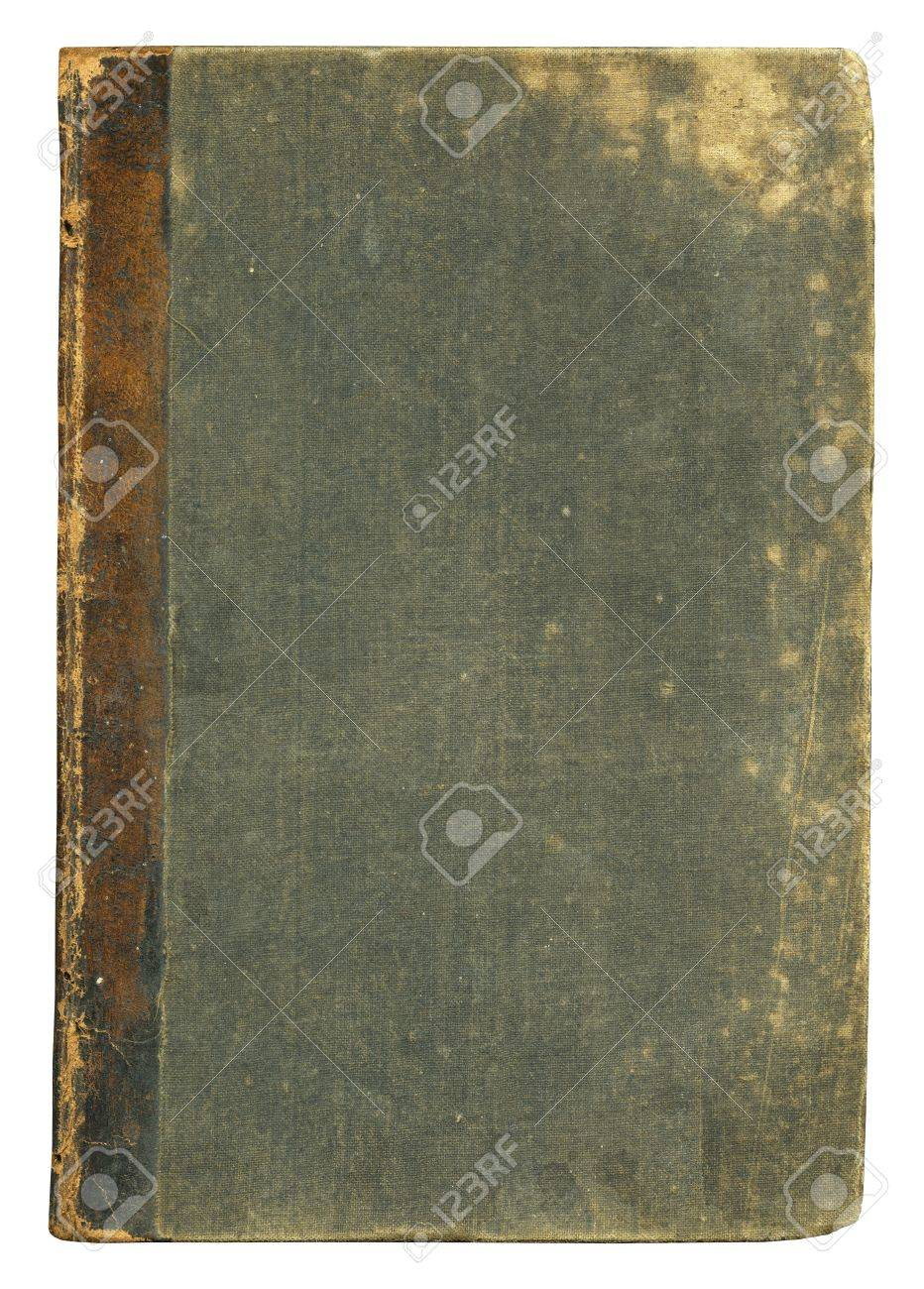 Blank Old Book Cover, Isolated. Stock Photo, Picture And Royalty ...