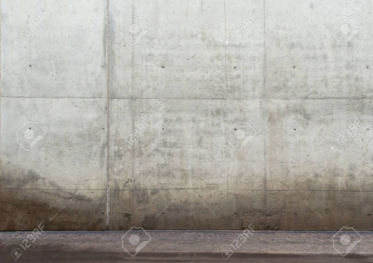 Urban background. Empty concrete wall and floor. Stock Photo - 42143857