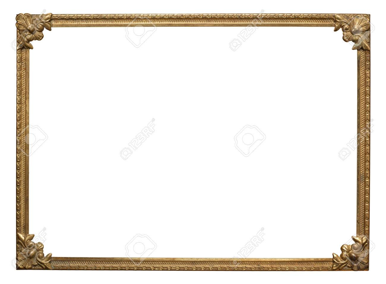 Ornate Vintage Metal Photo Frame Stock Photo, Picture And Royalty ...