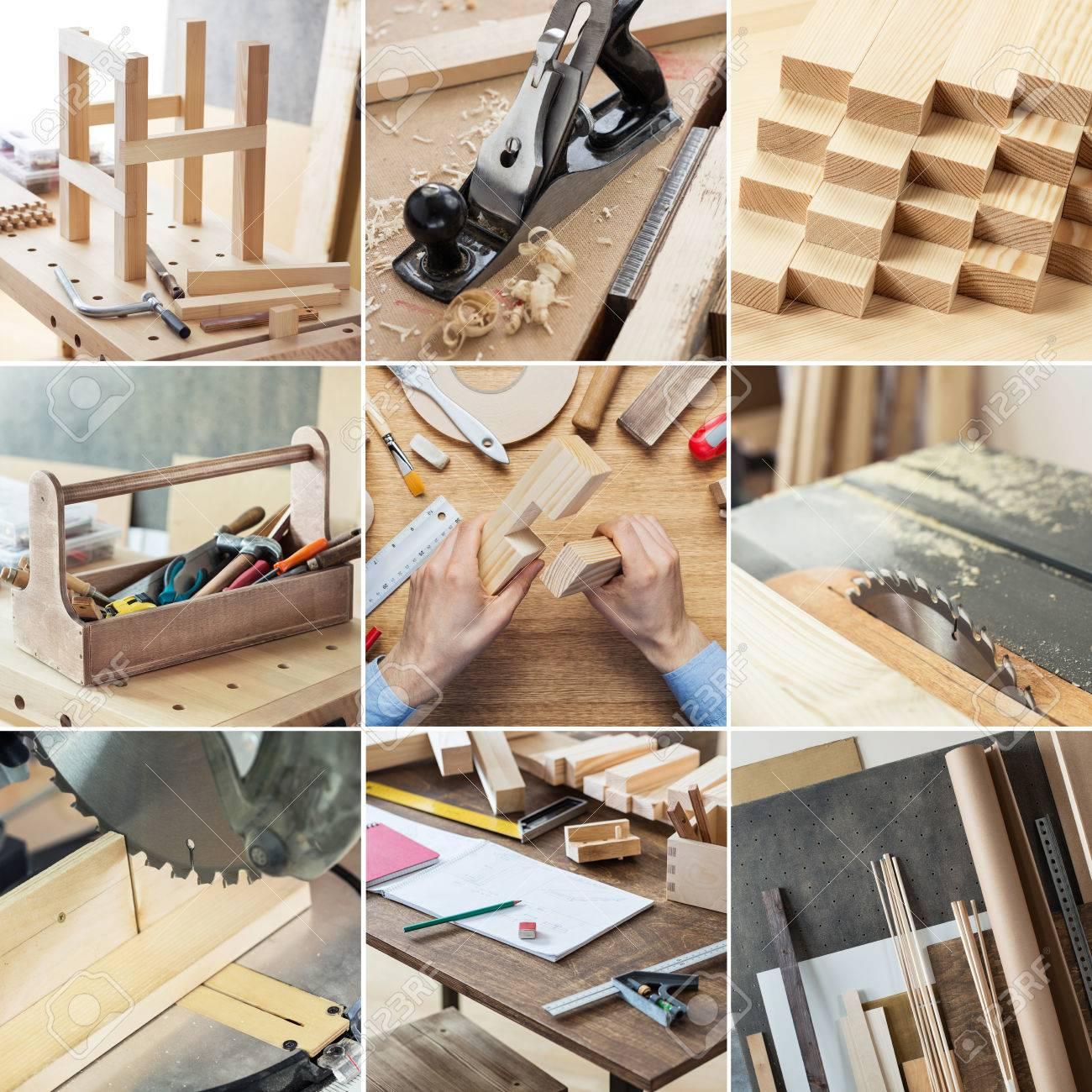Various Woodworking Carpentry Repairing Diy Tools And Supplies