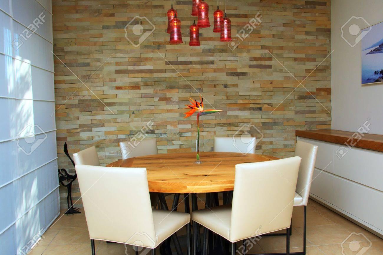 Mesas Redondas Modernas. Cheap Mesa Redonda Moderna De Vidrio Oak ...