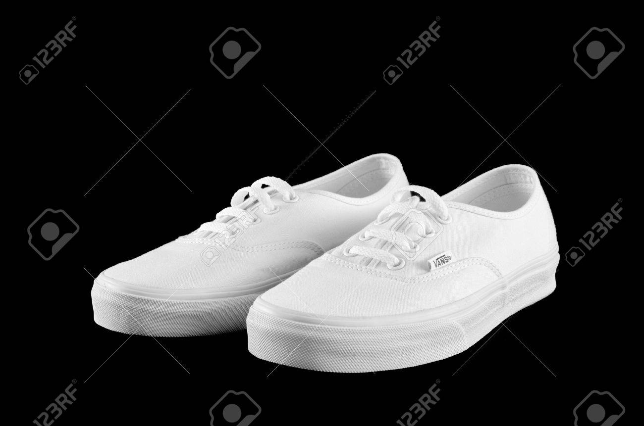 white off the wall vans