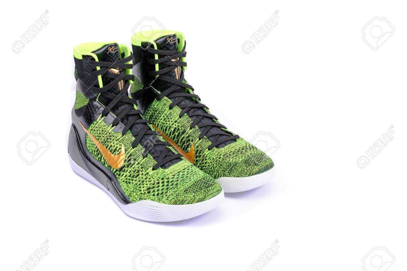 best service 0f39c 79bbf NEW YORK - DEC. 15, 2015: An ultra modern Nike Kobe IX Elite..