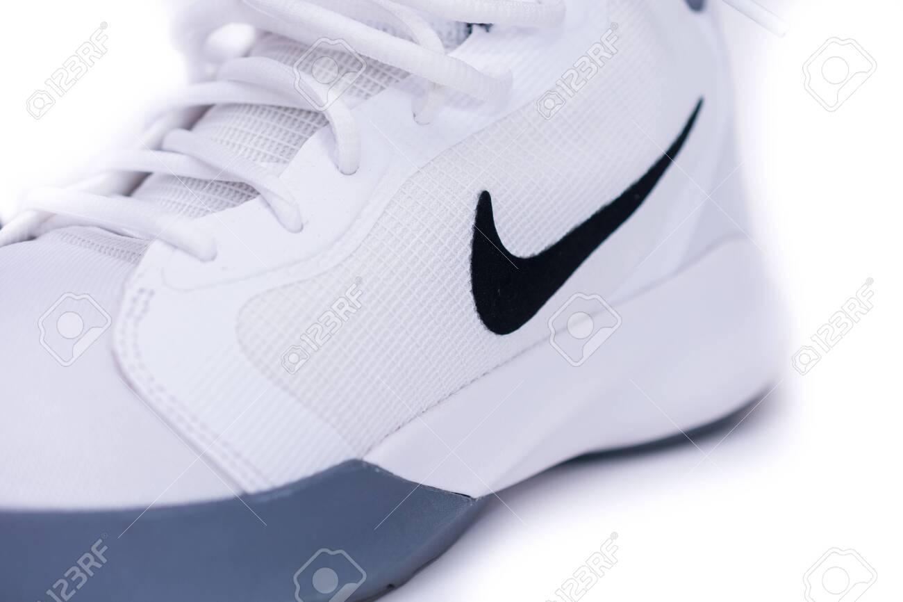 LONDON: SEPT 14, 2019: Modern Nike