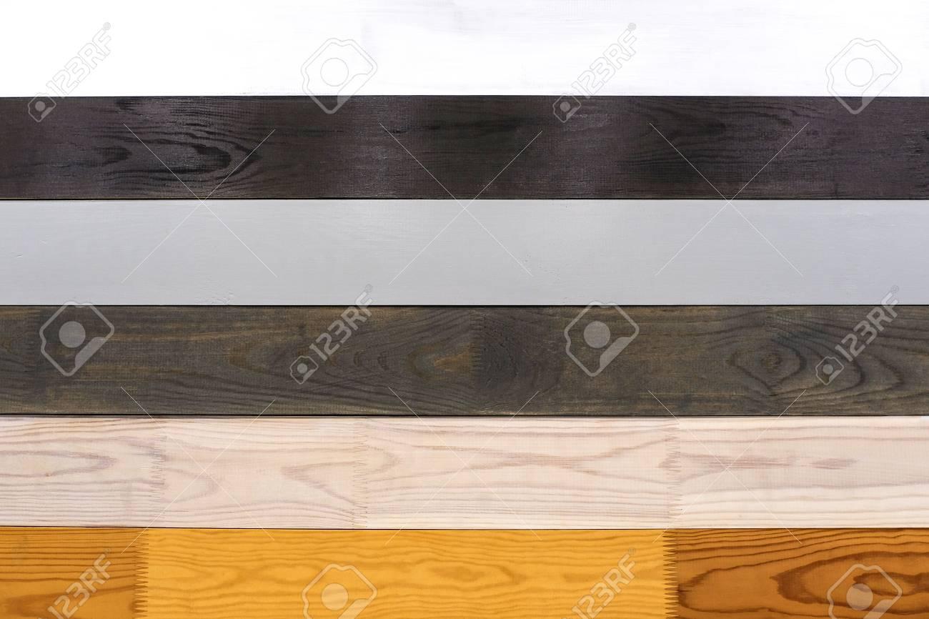 Polished Board Different Types Of Wood White Oak Bog Oak Stock