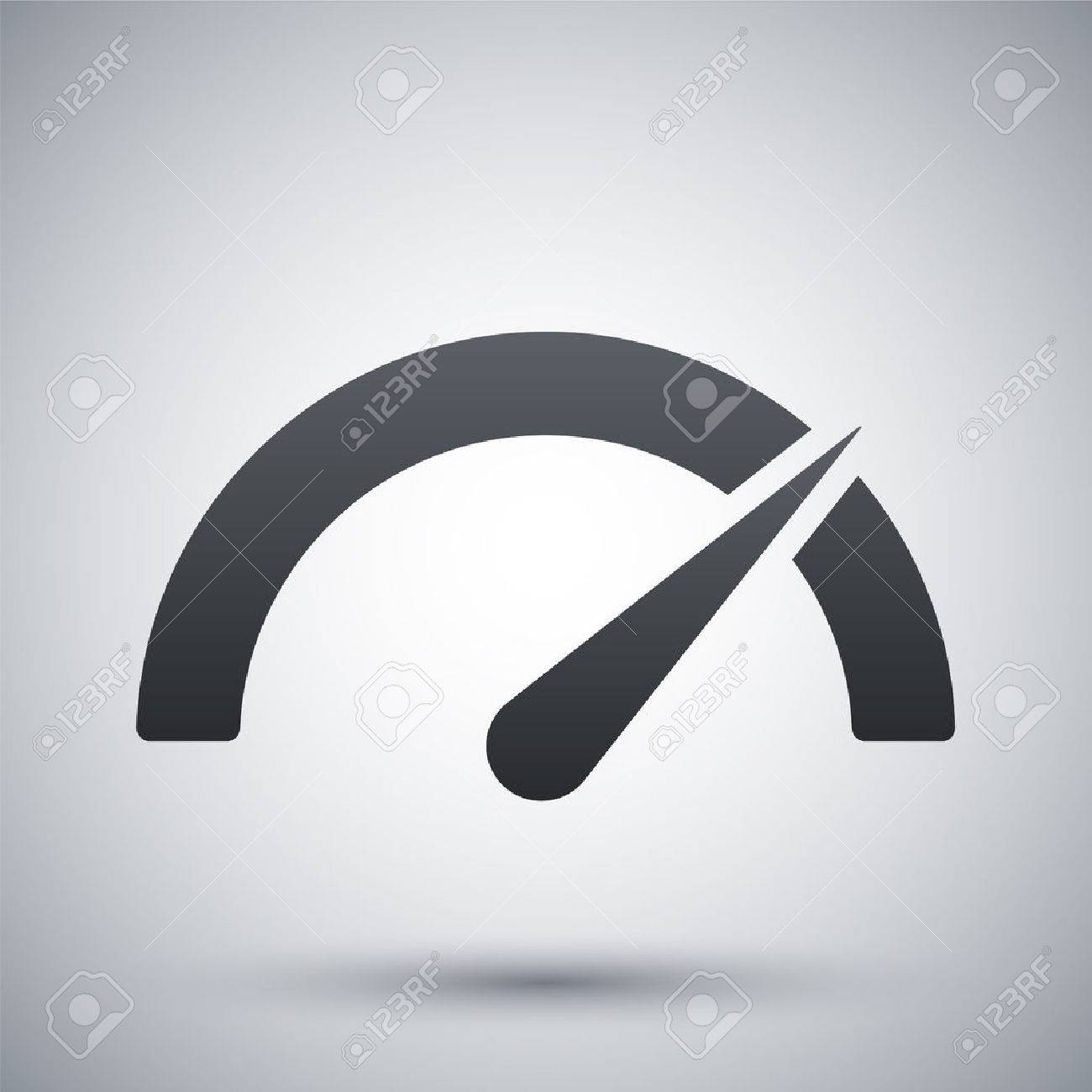 Vector performance measurement icon - 41324254