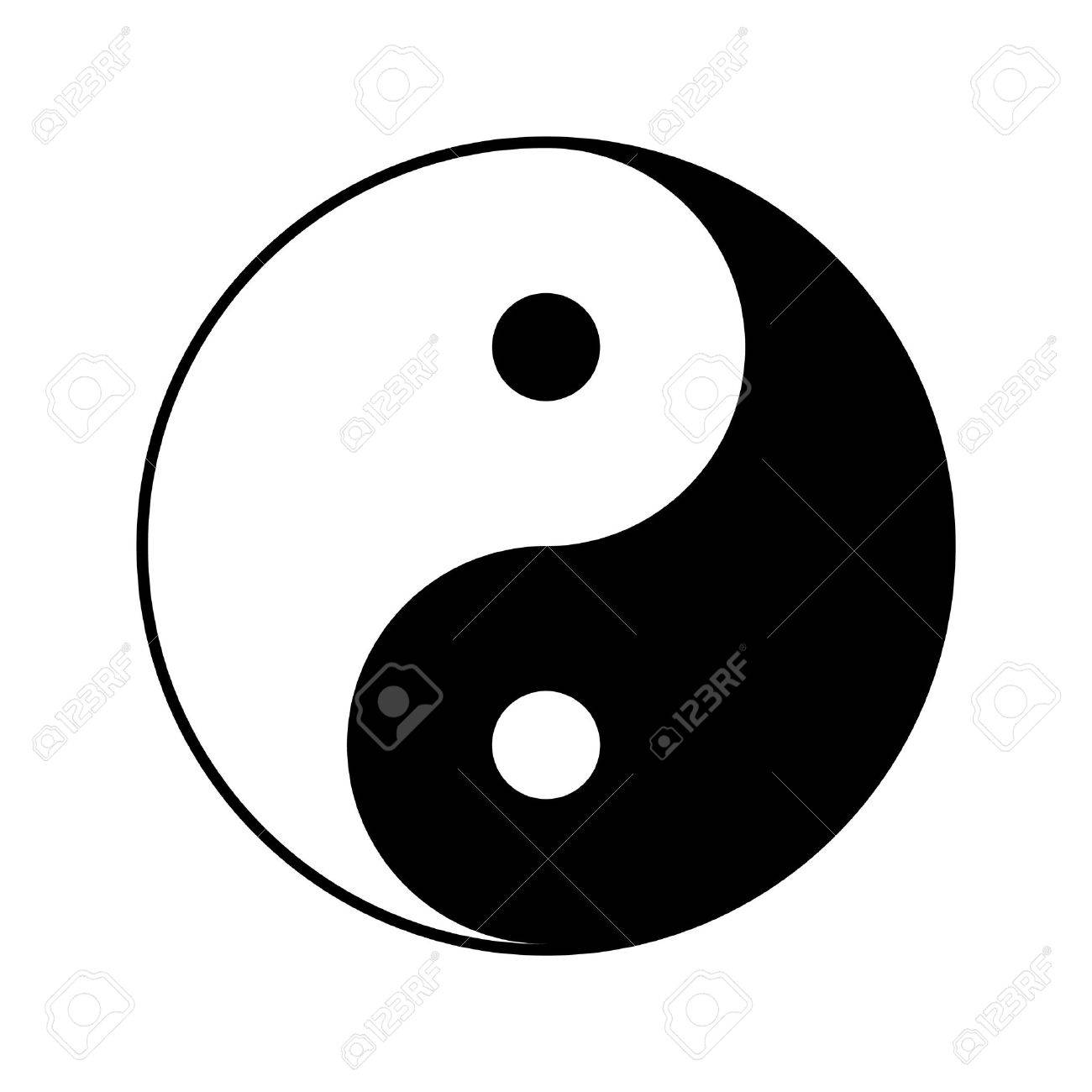 yin and yang symbol vector illustration royalty free cliparts rh 123rf com yin yang symbol vector free download yin yang symbol vector free download
