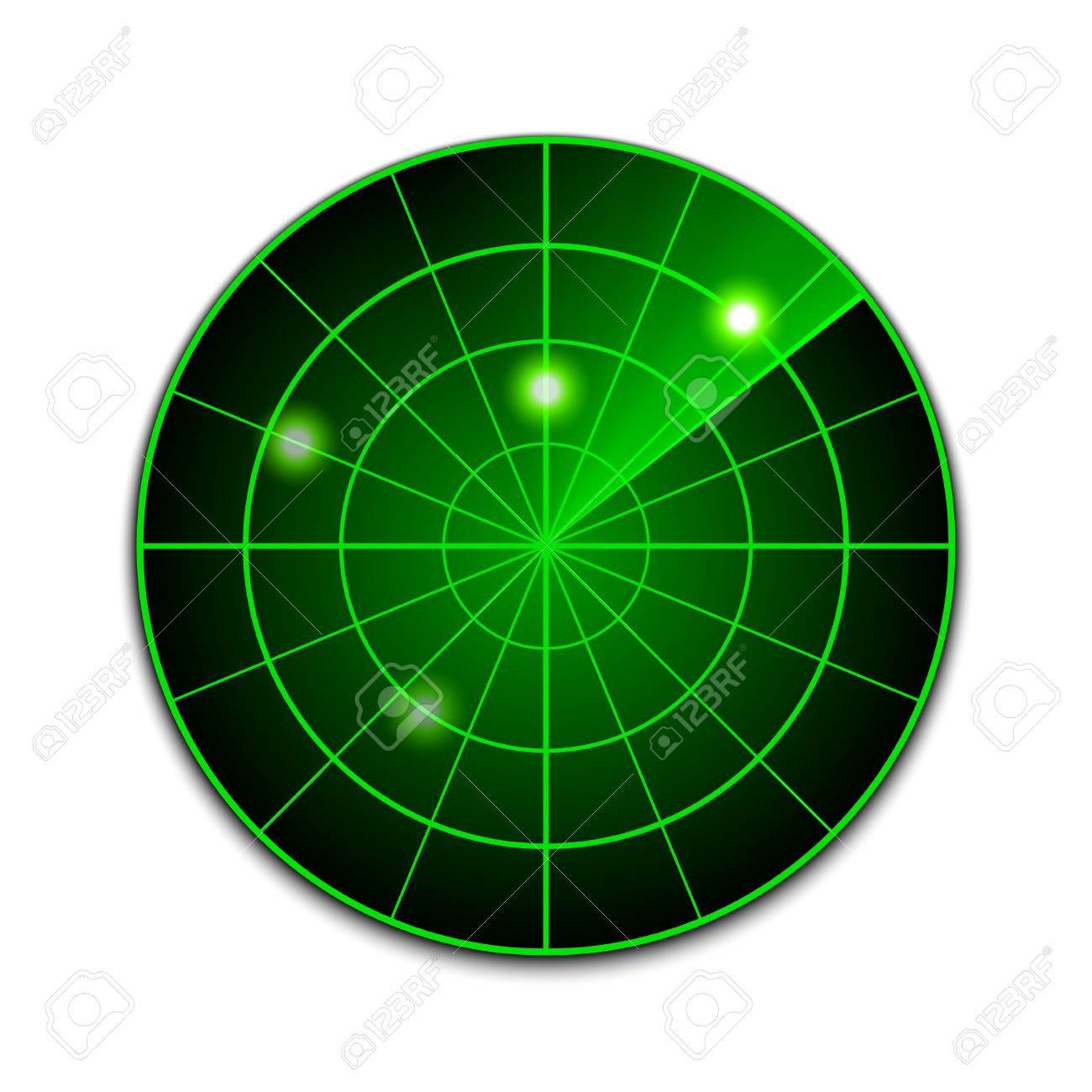 Vector Radar Icon Royalty Free Cliparts Vectors And Stock