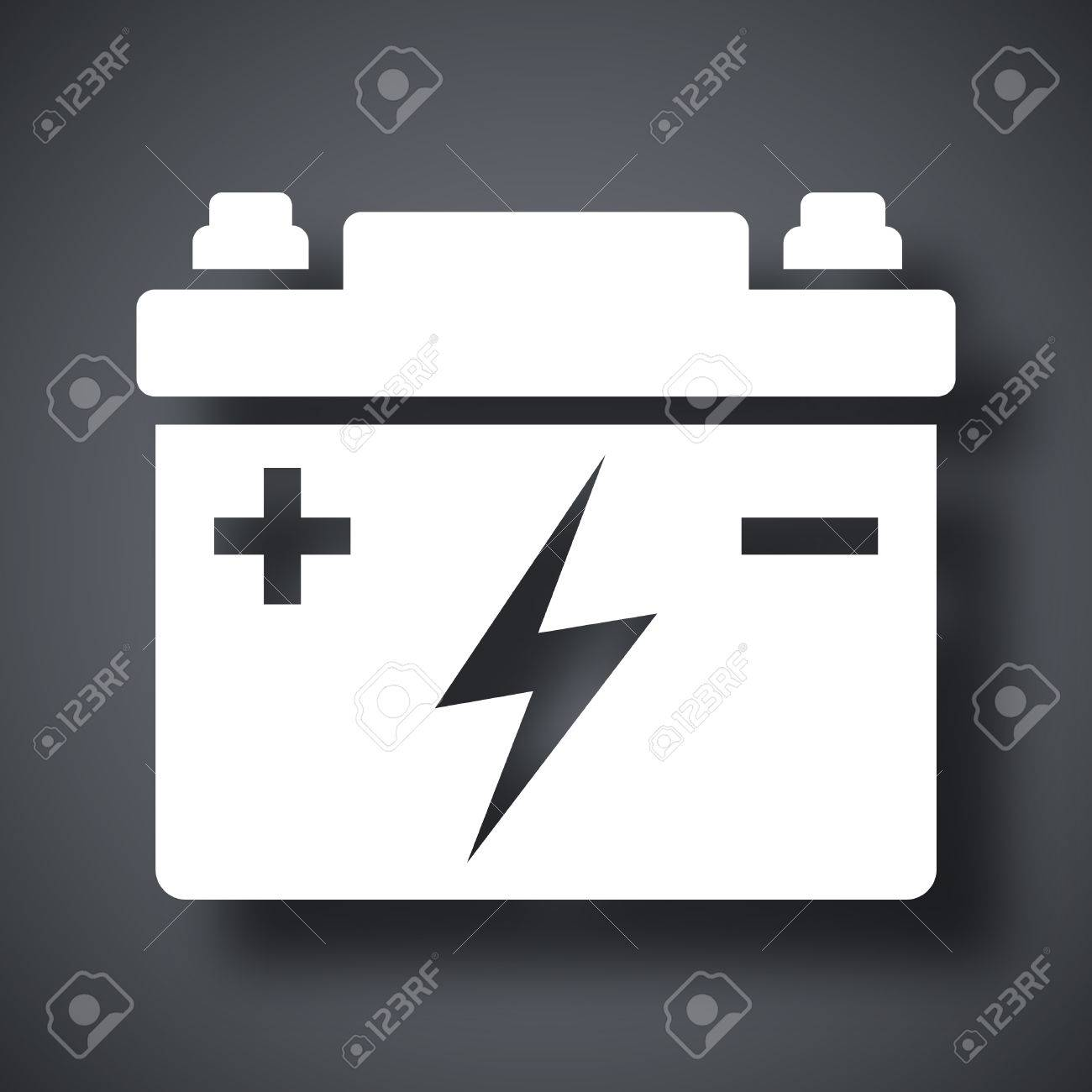 car battery vector icon royalty free cliparts vectors and stock illustration image 42964996 123rf com