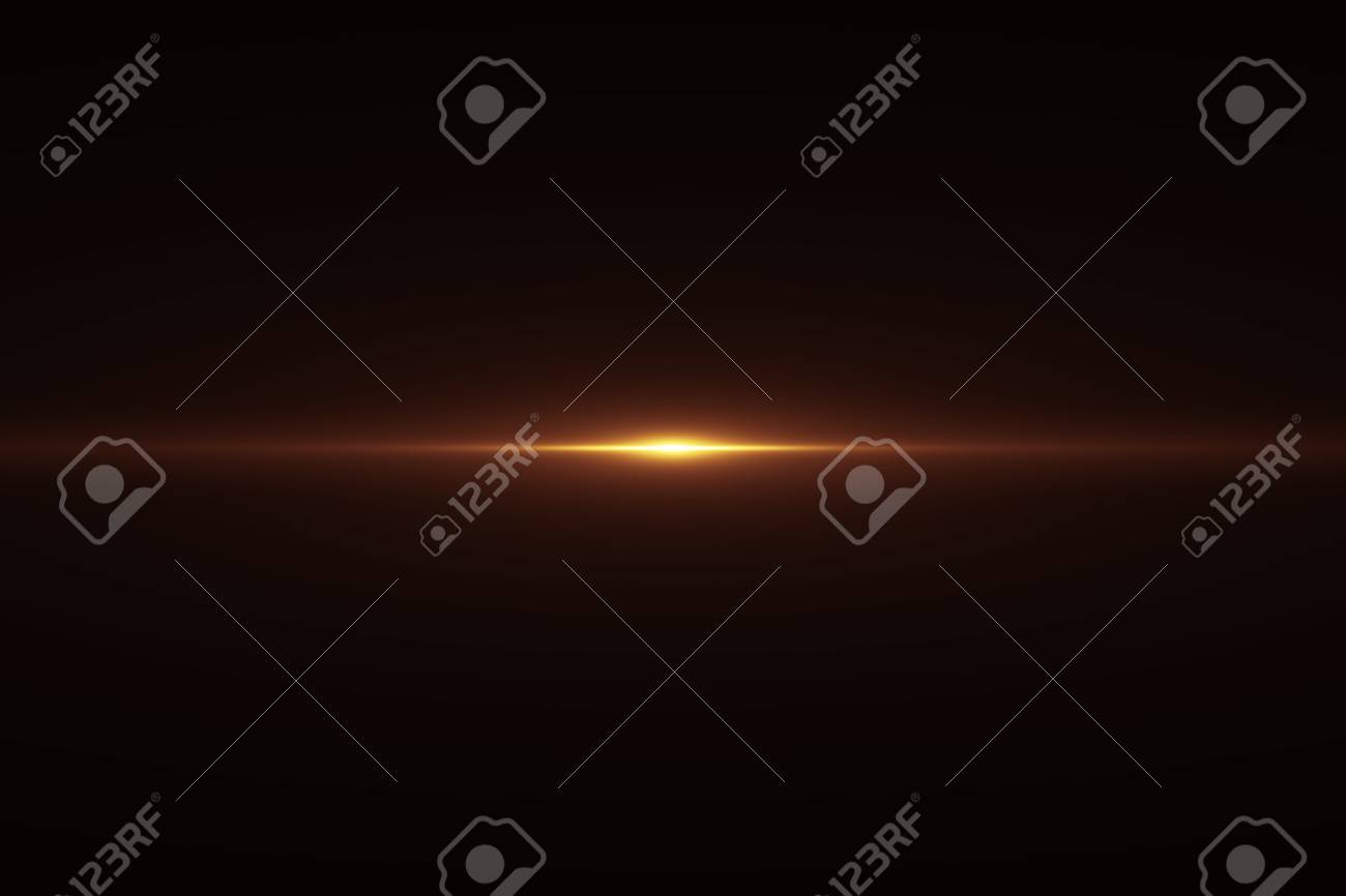 gold warm color bright lens flare flashes leak for transitions on black background,movie titles and overlaying - 97630626