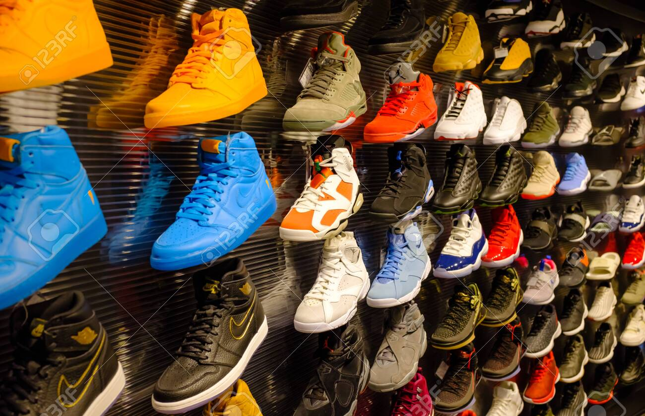 Singapore-21 JAN 2017: Nike Jordan