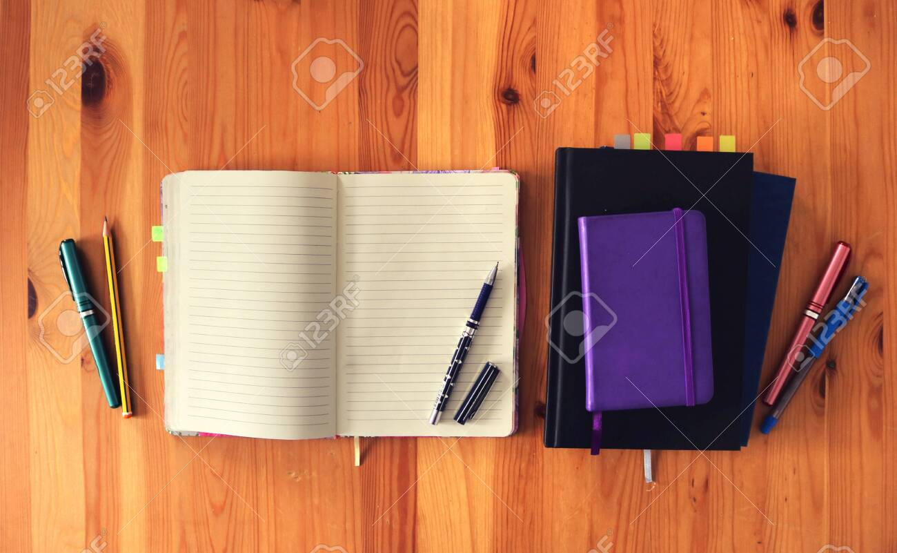 Tidy Hipster Workspace Background To Study Or Work At Home From Stock Photo Picture And Royalty Free Image Image 148001471