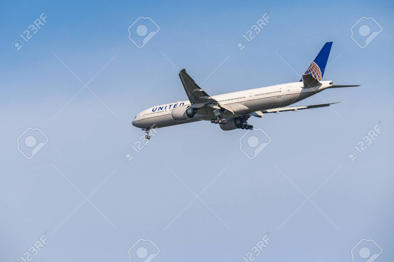 Frankfurt Germany 11 08 2019 Usa United Airlines Boeing 767 332 Stock Photo Picture And Royalty Free Image Image 136571493