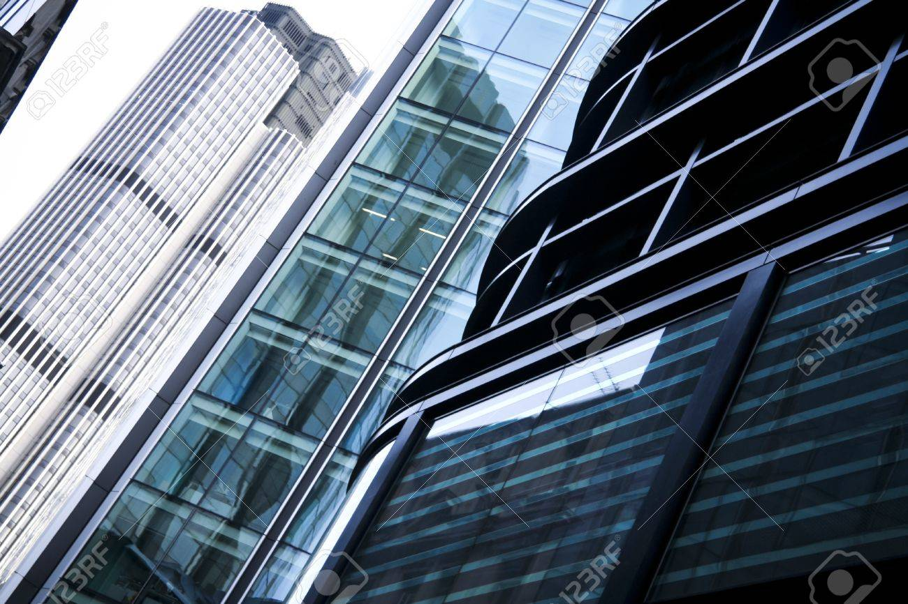 office buildings in the city of london financial district Stock Photo - 13973224
