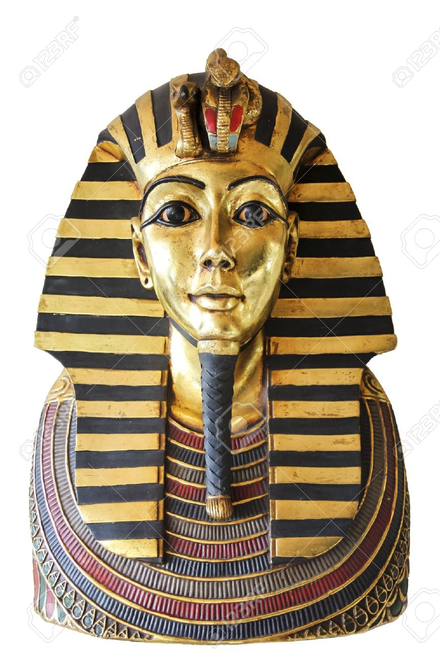 Modern copy of ancient Funerary Mask Of Tutankhamun