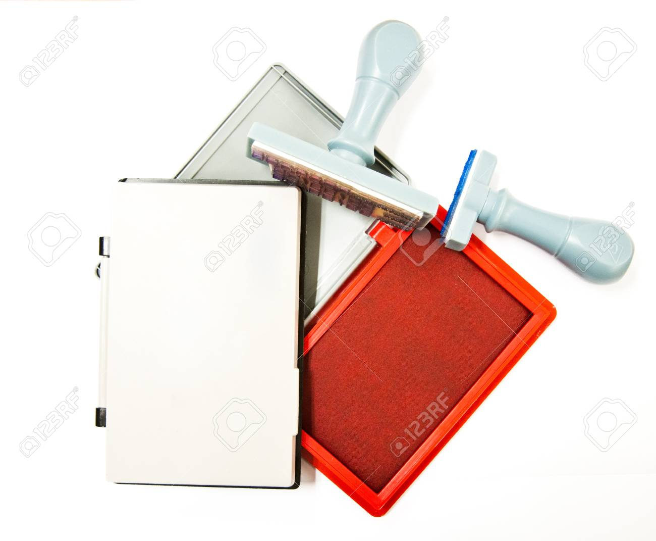 ink for stamp, the equipment for using in office Stock Photo - 9134420