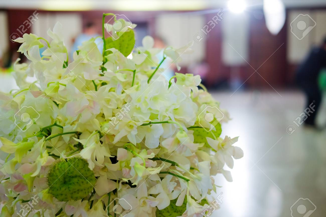 White Orchid Flowers Decorative For Wedding Flowers For Wedding
