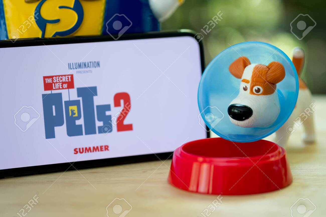 Bangkok Thailand June 2 2019 Dog Toy From The Secret Life Stock Photo Picture And Royalty Free Image Image 124412262