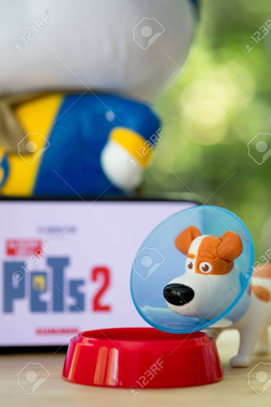 Bangkok Thailand June 2 2019 Dog Toy From The Secret Life Stock Photo Picture And Royalty Free Image Image 124412273