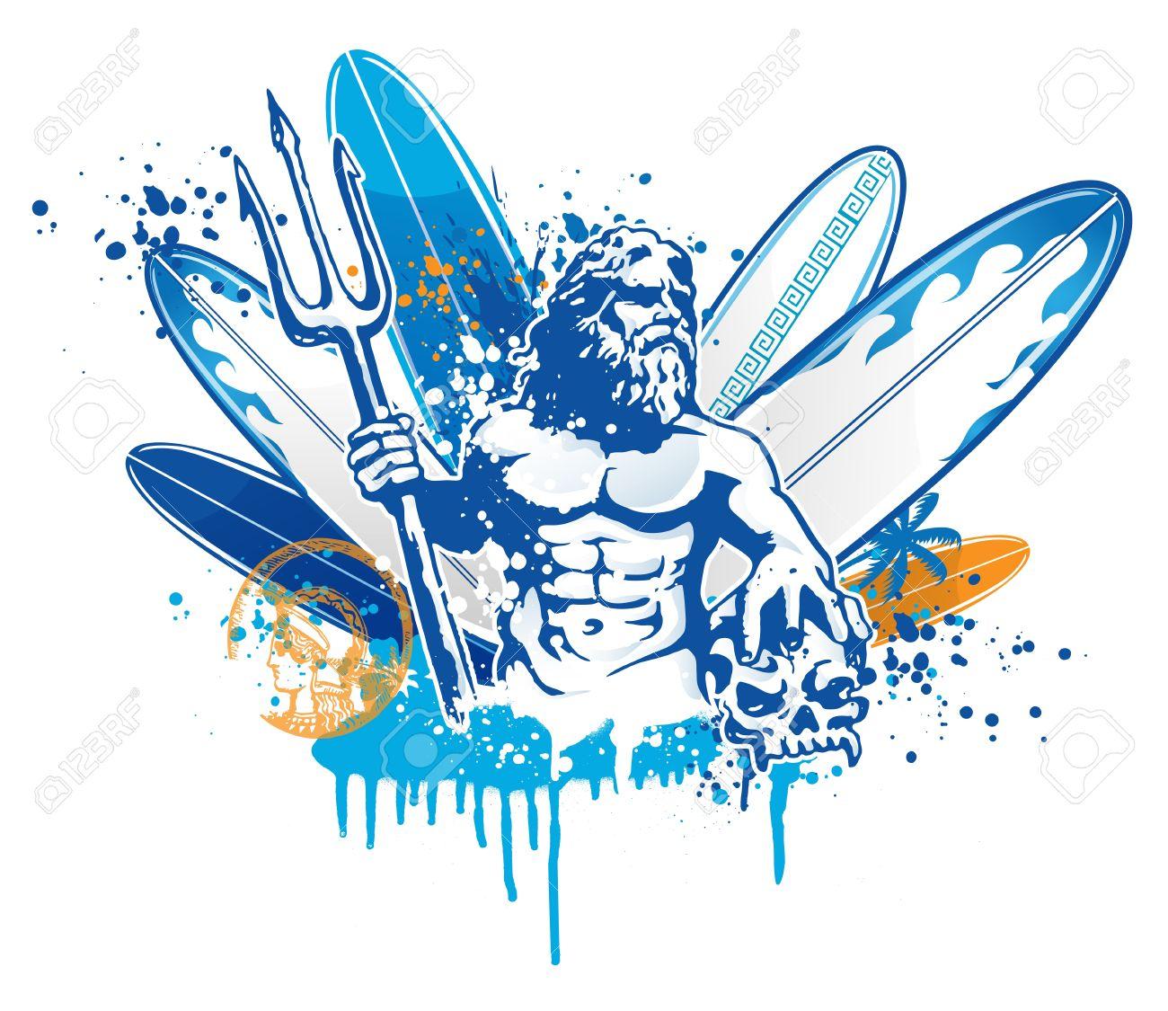 poseidon surfer - 17354864