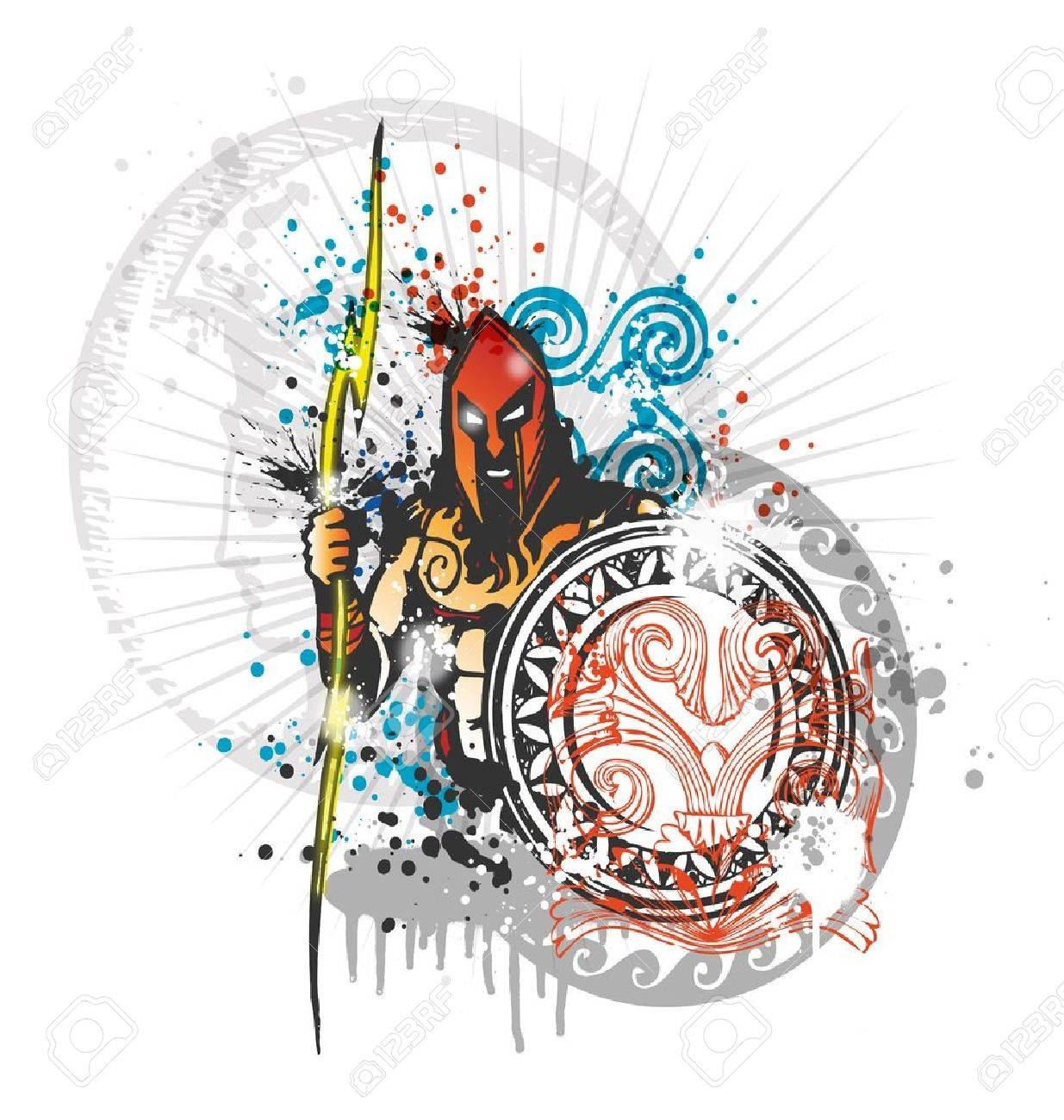 thunder of god zeus royalty free cliparts vectors and stock