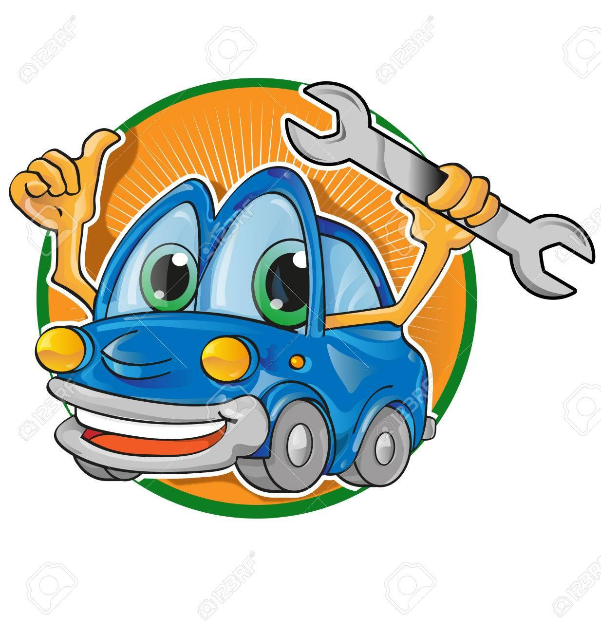 car service cartoon Stock Vector - 23858248