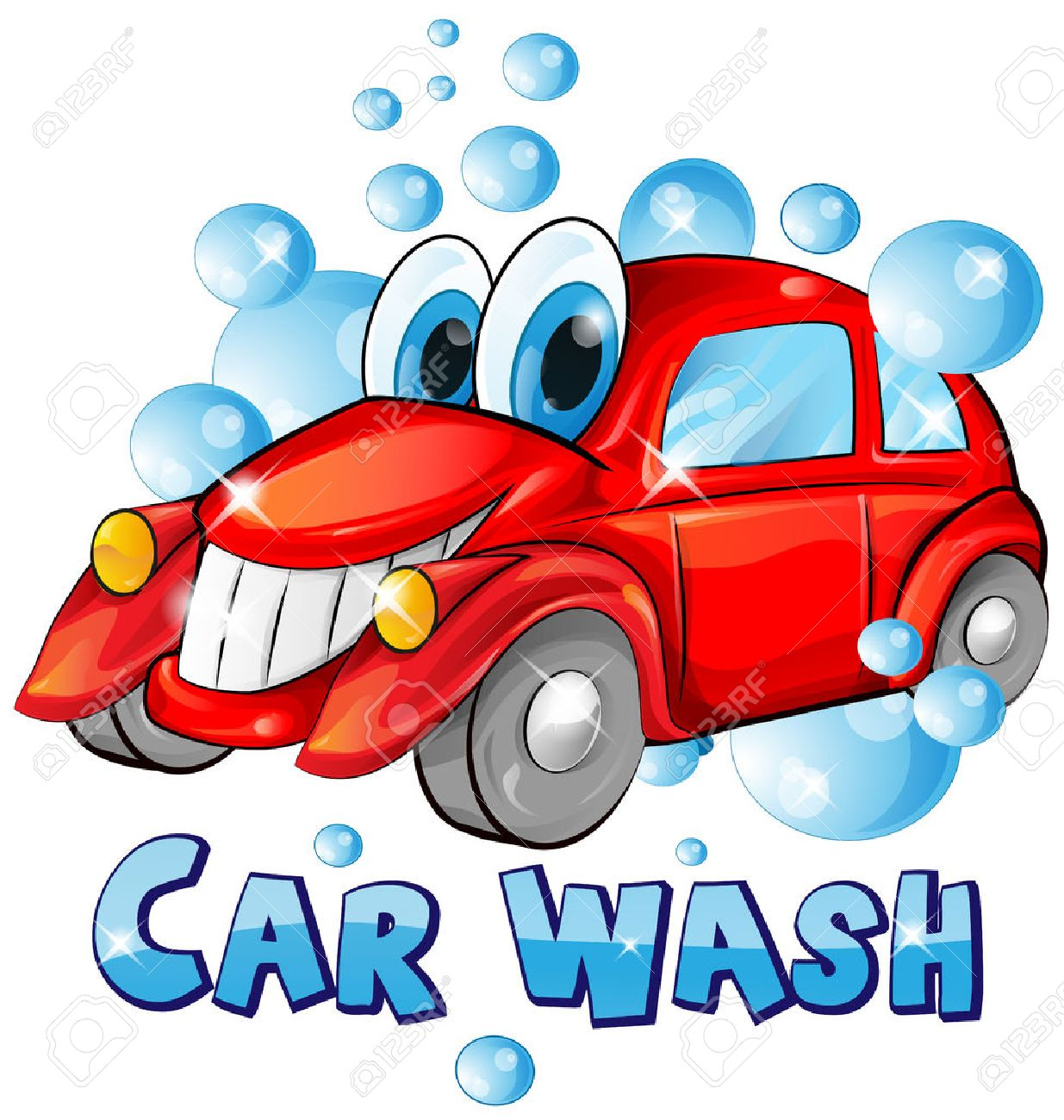 car wash cartoon isolated on white background royalty free cliparts rh 123rf com car wash vector rapid wash video car wash vector png