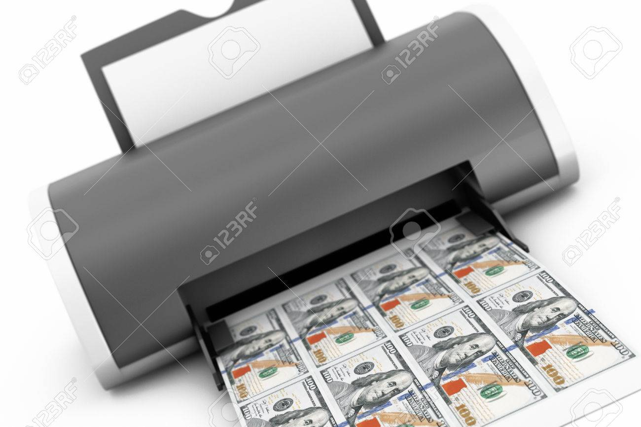 On Stock A And Background Desktop 62285740 Printer Free 3d Printed Home White Royalty Picture Money Image Photo Image