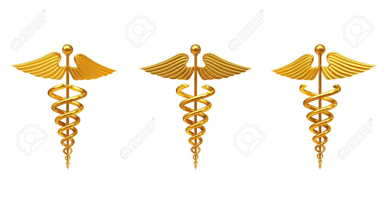 Gold medical caduceus symbol on a white background 3d rendering gold medical caduceus symbol on a white background 3d rendering stock photo 64919663 biocorpaavc