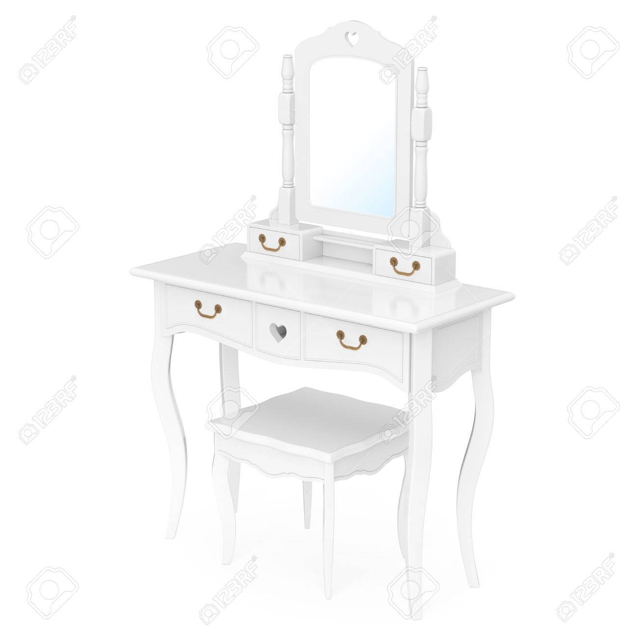 https://previews.123rf.com/images/doomu/doomu1612/doomu161200127/68413690-antique-bedroom-vanity-table-with-stool-and-mirror-on-a-white-background-3d-rendering.jpg